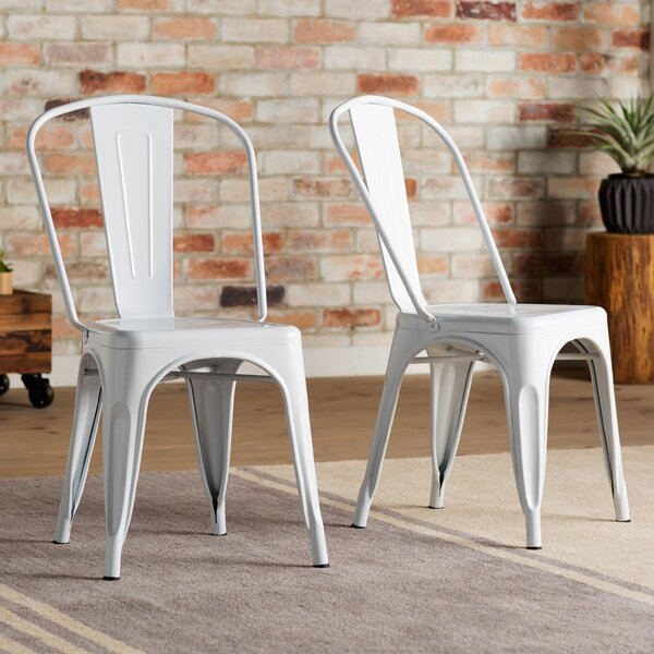 Kunkle Stackable Side Chair (Set of 2) by Trent Austin Design