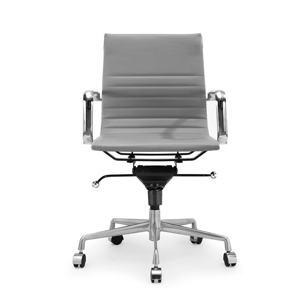 Stobie Modern Classic Aluminum Office Chair by Ivy Bronx