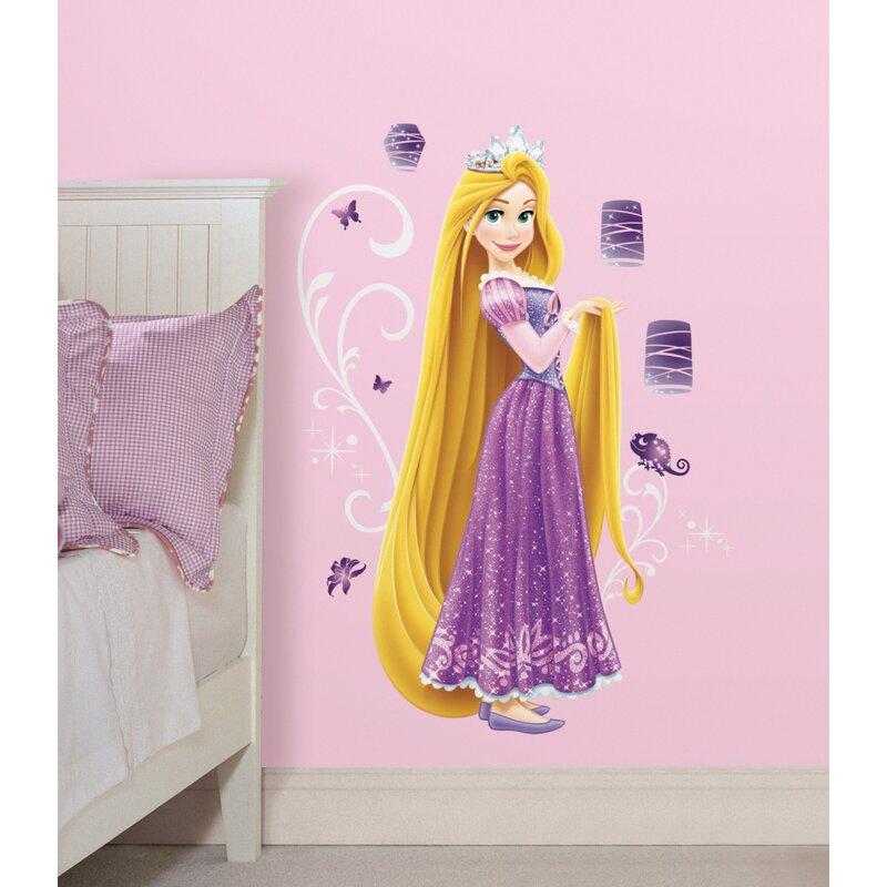 Rapunzel Disney Princess Tangled 3D Look Wall Vinyl Poster Sticker Mural