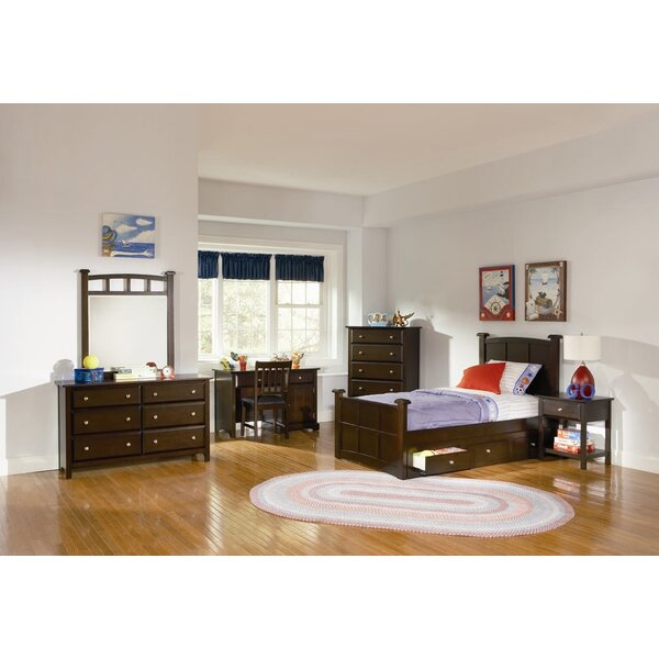 Harrington 6 Drawer Double Dresser with Mirror by Wildon Home ®