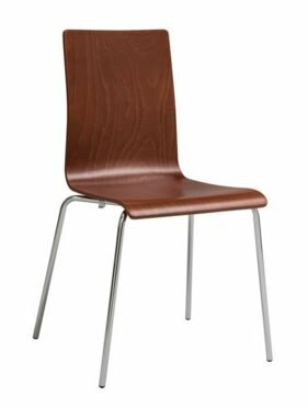 Armless Stacking Chair (Set of 2) by Safco Products Company