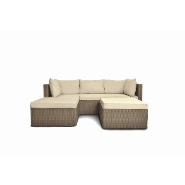 Ramazan 2 Piece Sectional Seating Group with Cushions by Latitude Run Latitude Run