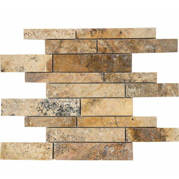 Scabos Atrium Random Sized Stone Mosaic Tile by Parvatile