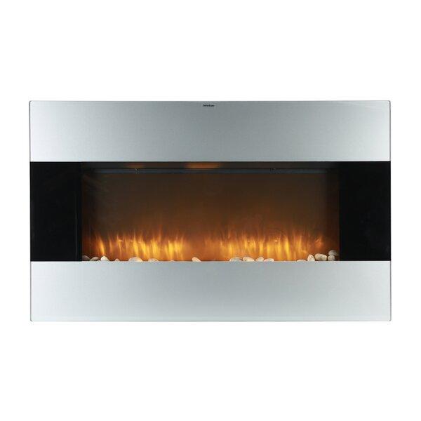 Trommald Wall Mounted Electric Fireplace By Orren Ellis