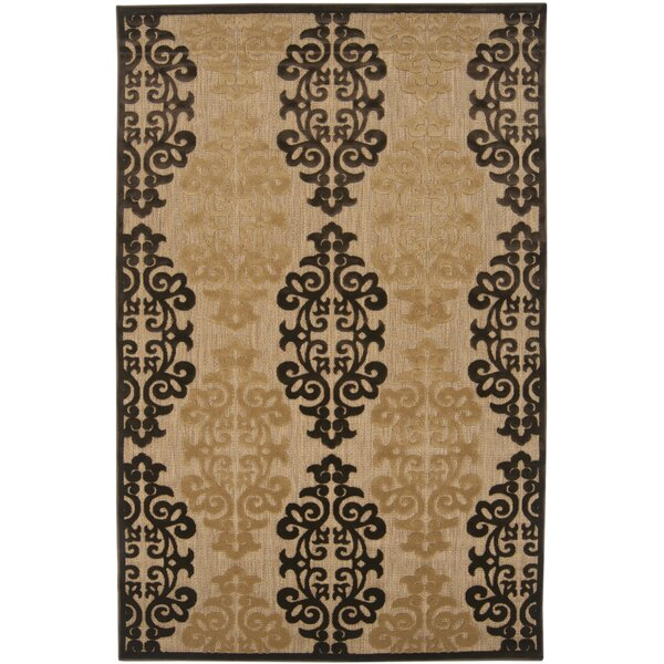 Carver Natural/Beige Outdoor Rug by Charlton Home