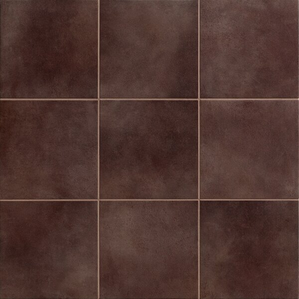 Poetic License 6 x 6 Porcelain Field Tile in Grape by PIXL
