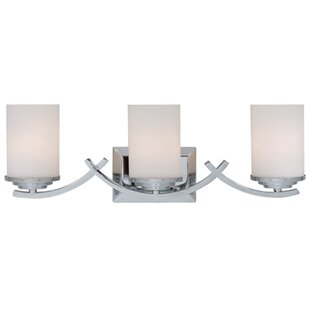 Top Reviews Qualls 3-Light Vanity Light By Winston Porter