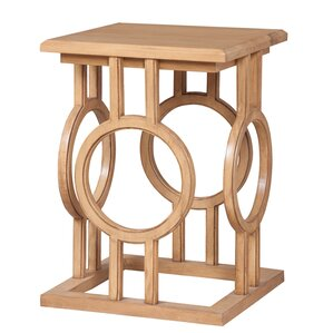 Ametrine End Table by Merc..