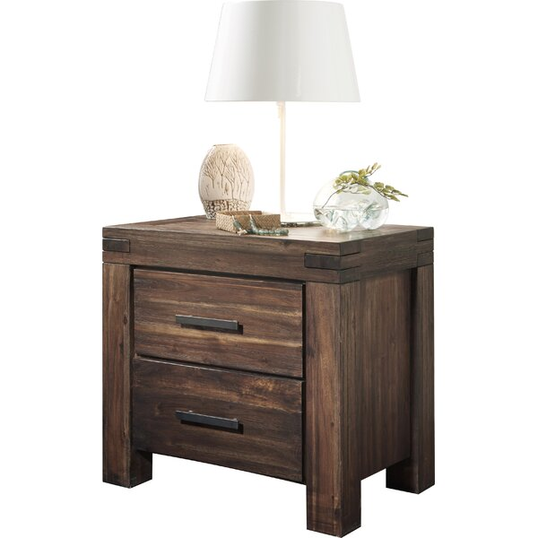 Akers 2 Drawer Nightstand by Grovelane Teen