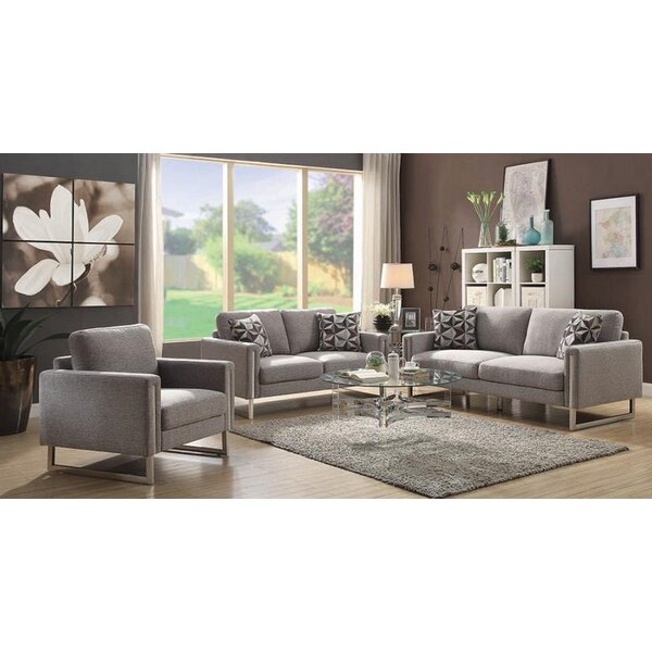 Stage 3 Piece Living Room Set by Orren Ellis