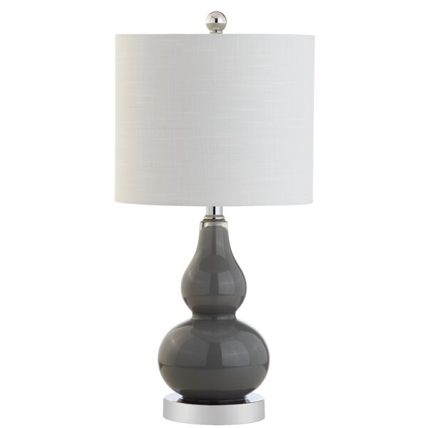 Clarksville Glass 20.5 Table Lamp by House of Hampton