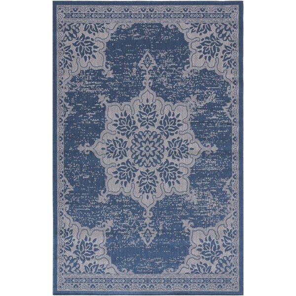 Cindy Oriental Blue Indoor / Outdoor Area Rug