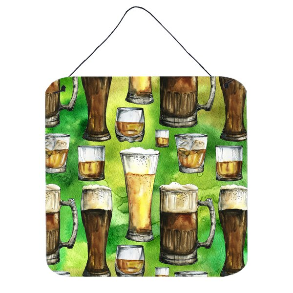 Beers Wall Décor with Hanging Rope by East Urban Home
