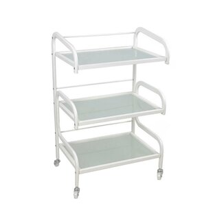 Affordable Price 3 Tiers Hairdresser Beauty Storage Trolley Shoe Rack By Symple Stuff