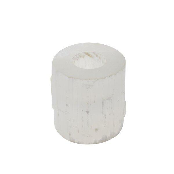 Cylinder Stone Votive Holder by Bloomsbury Market