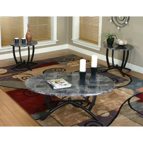 Jacob 3 Piece Coffee Table Set by Latitude Run
