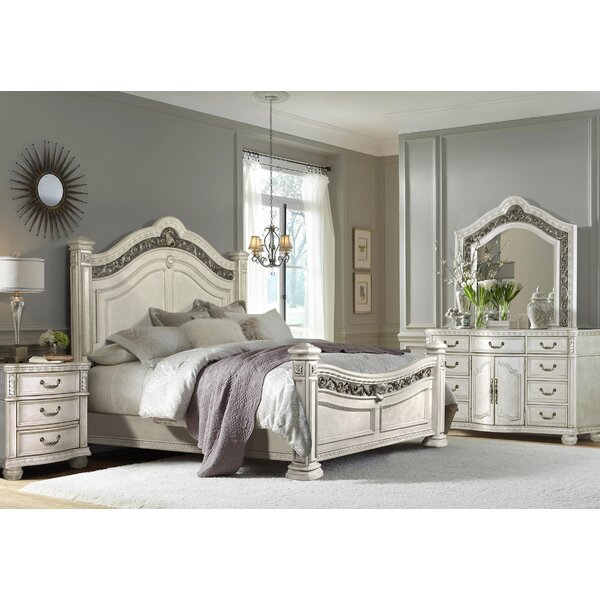 Zigler Queen Four Poster Bed by Astoria Grand