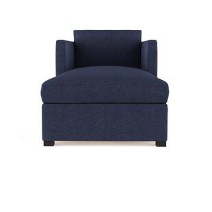 Leedom Velvet Chaise Lounge