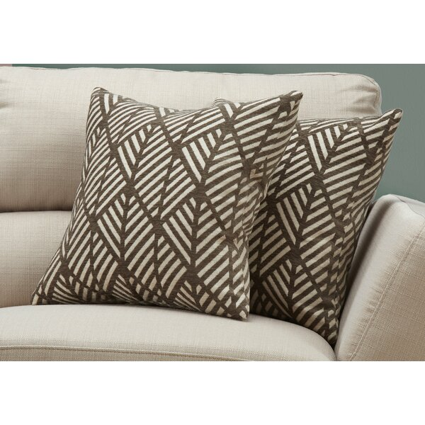 Jase Geometric Design Throw Pillow (Set of 2) by Langley Street