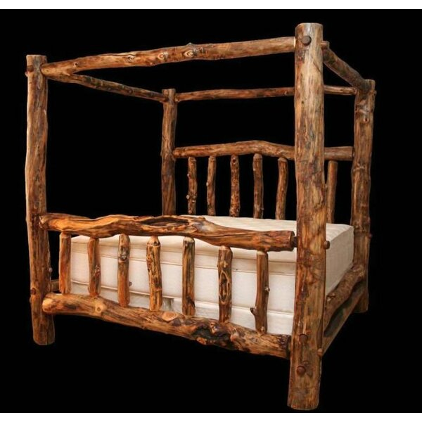 Amias Queen Canopy Bed by Millwood Pines