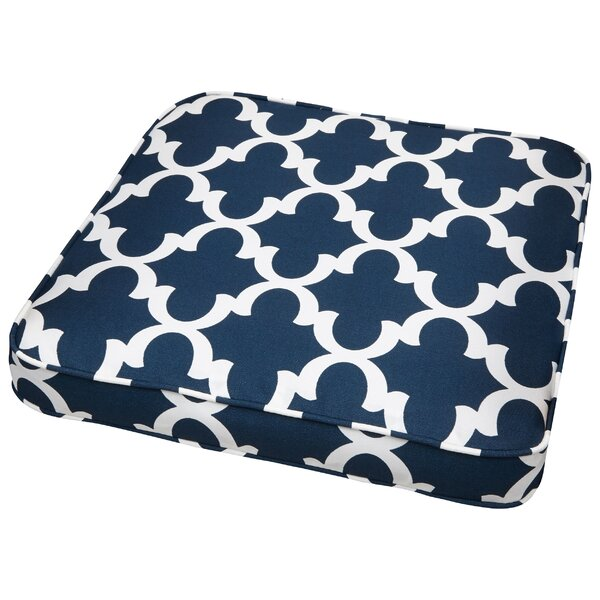 Stylish Indoor/Outdoor Dining Chair Cushion by Darby Home Co