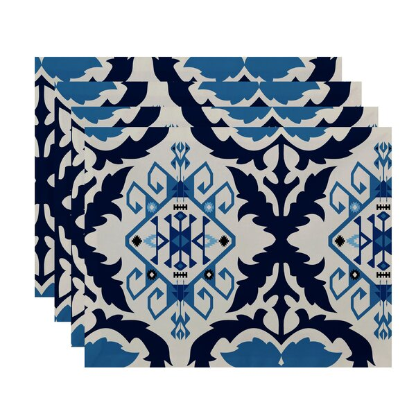 Soluri Bombay 6 Print Placemat (Set of 4) by Bungalow Rose