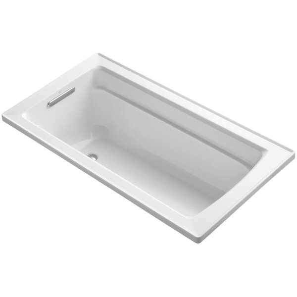 Archer Drop-In Bath with Reversible Drain by Kohle