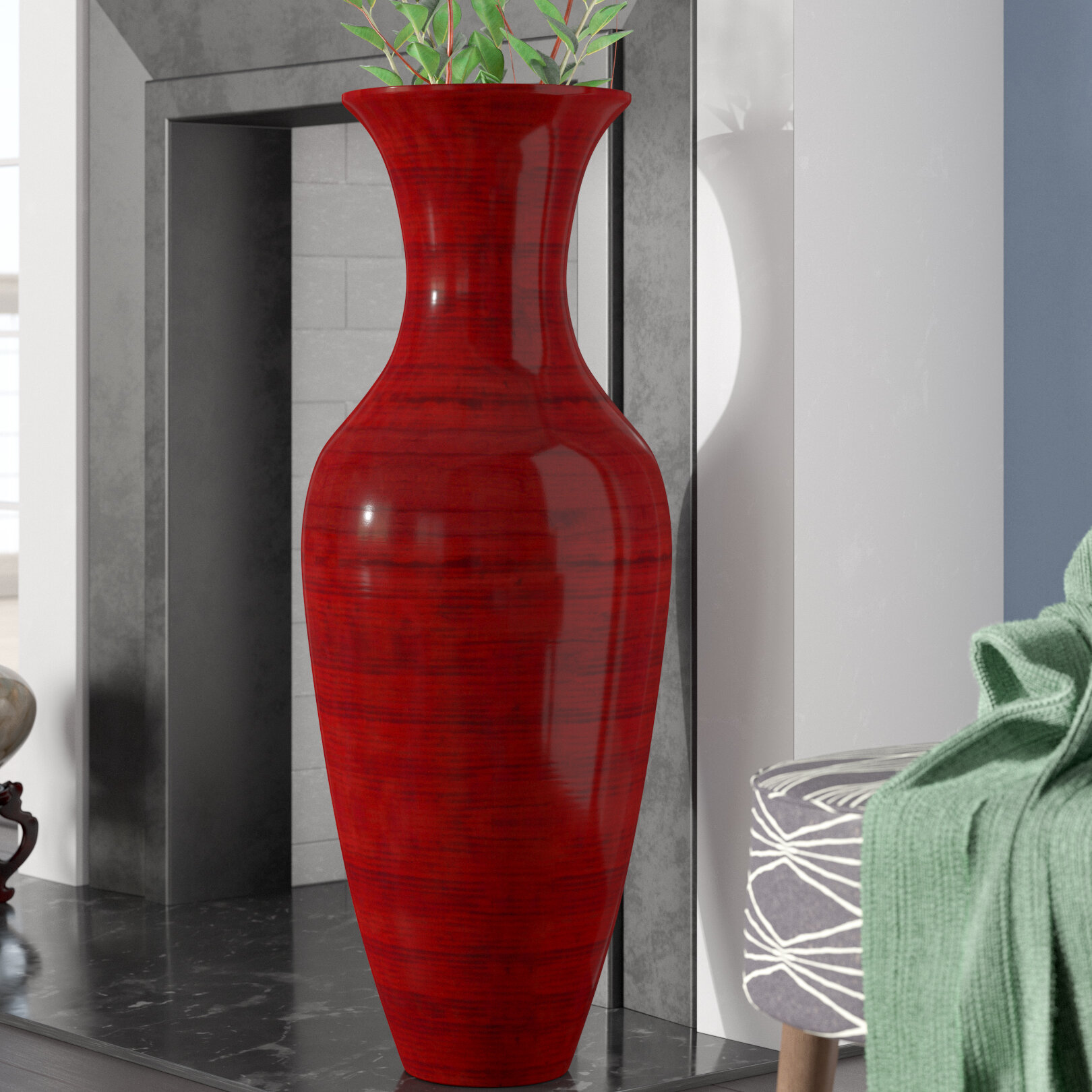 Kalb Bamboo Floor Vase