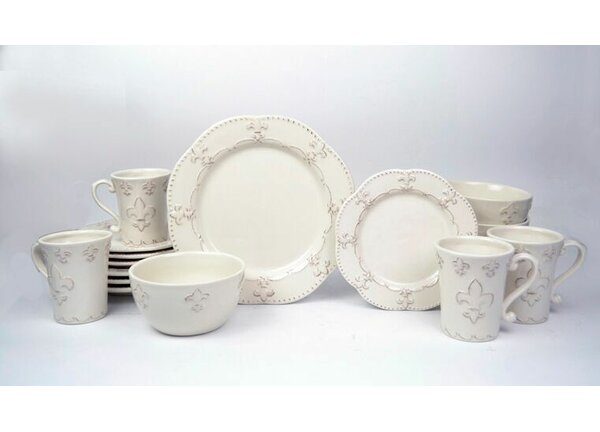 Adi 16 Piece Dinnerware Set, Service for 4 by Ophelia & Co.