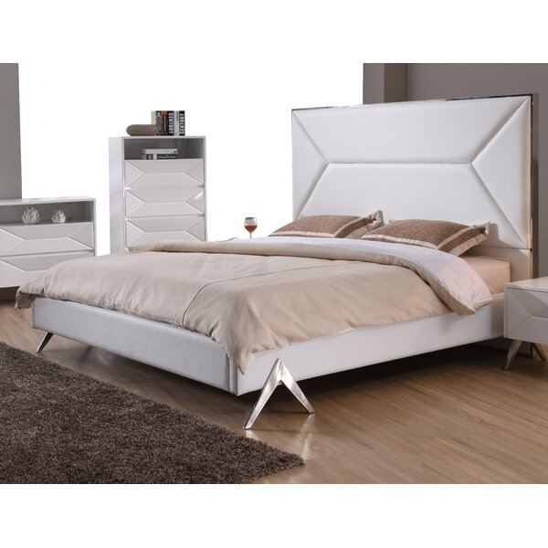 Anouk Upholstered Platform Bed by Wade Logan
