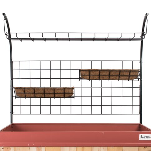 Craft Grower Steel Lattice Panel Trellis by LGarden