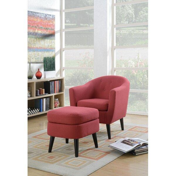 Burhall Barrel Chair by Red Barrel Studio