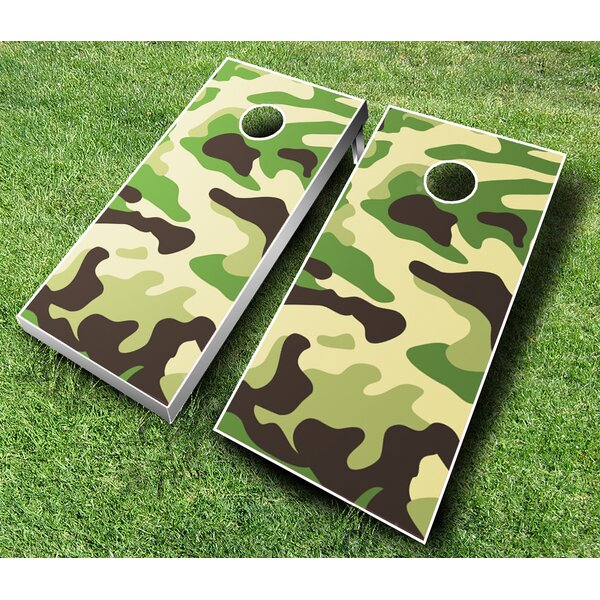 10 Piece Camo Cornhole Set by AJJ Cornhole