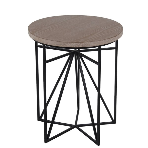 Holmes End Table by Williston Forge
