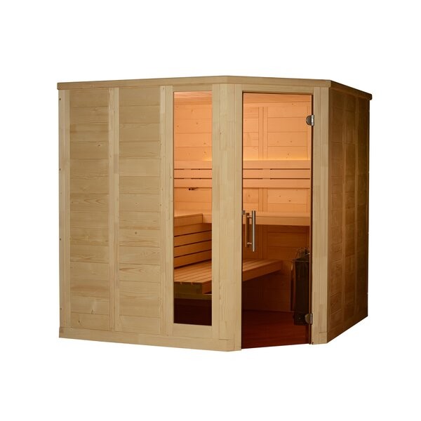 Patterson 6 Person Traditional Steam Sauna by Almost Heaven Saunas LLC