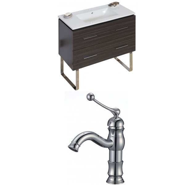Kyra Modern 36 Single Bathroom Vanity Set by Orren Ellis