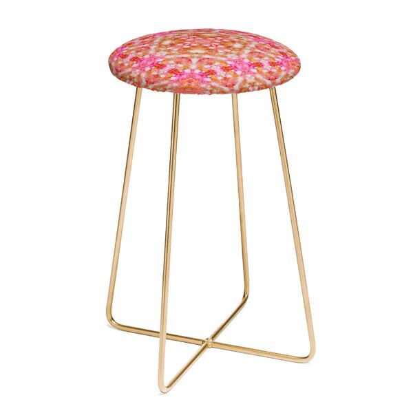 Lisa Argyropoulos Autumn Rapture Kaleido 25 Bar Stool by East Urban Home