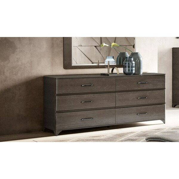 Paniz 6 Drawer Double Dresser by Brayden Studio