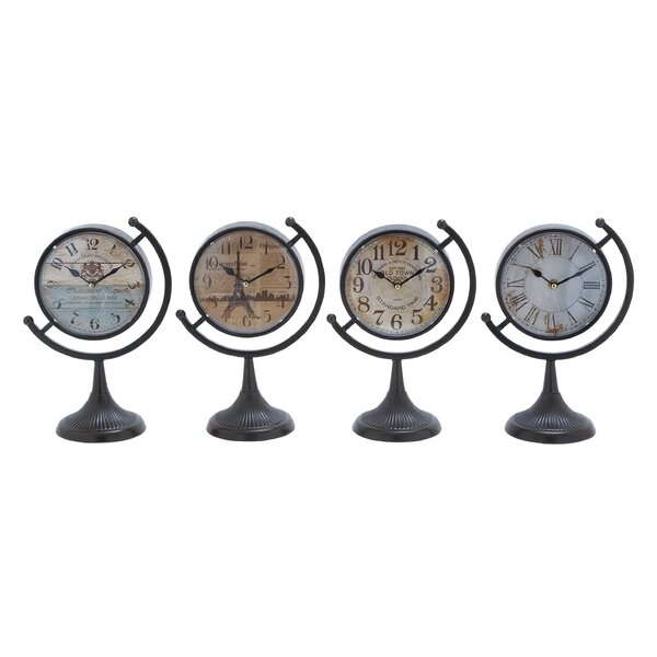 Desk Clock Set (Set of 4) by Cole & Grey