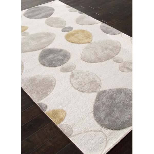 Ballylinney Ivory/Gray Area Rug by Langley Street