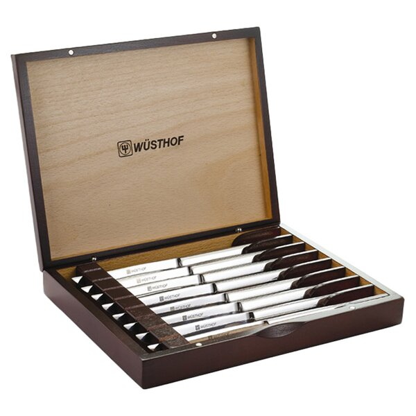 9 Piece Steak Knife Set with Storage (Set of 8) by