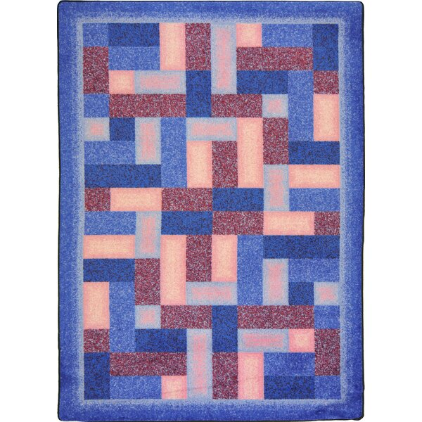Hand-Tufled Blue/Brown Area Rug by The Conestoga Trading Co.