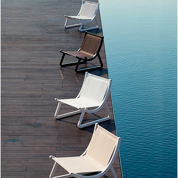 Arago Patio Chair with Cushion by Orren Ellis