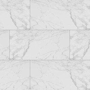 bathroom tile. Carrara 12  x 24 Porcelain Field Tile Bathroom You ll Love Wayfair