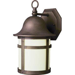 Antique Brass Outdoor Wall Lighting Youu0027ll Love | Wayfair
