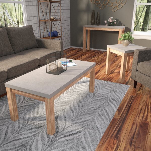 Coffee Table by Rosecliff Heights