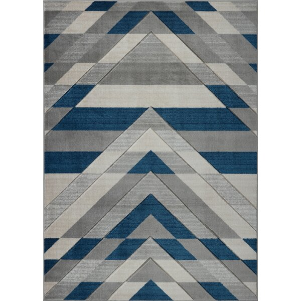Ramage Gray/Blue Area Rug by Orren Ellis