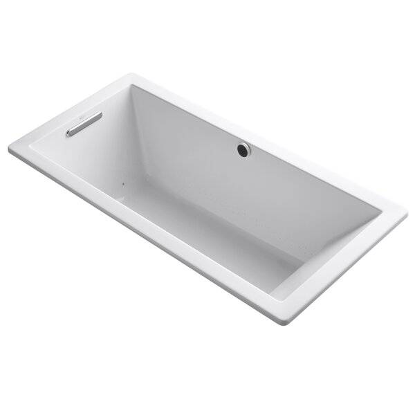 Underscore Bubblemassage 66 x 32 Soaking Bathtub by Kohler