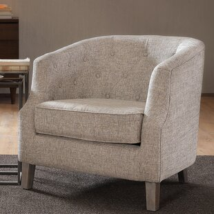 Comparison Catalpa Chesterfield Barrel Chair by Alcott Hill