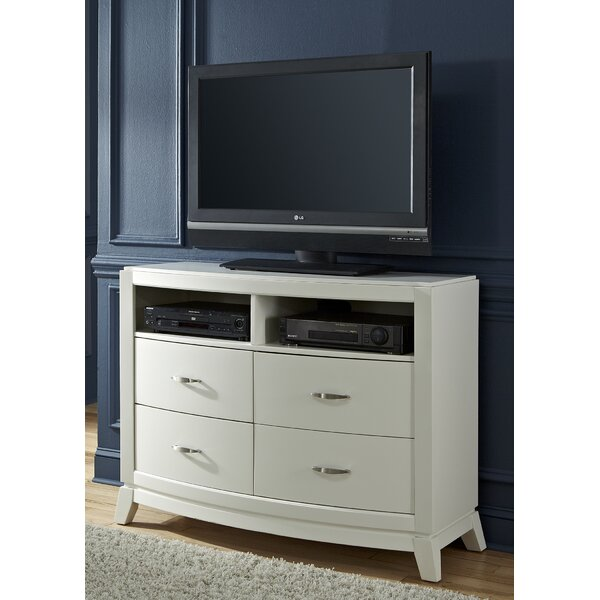 Loveryk II 4 Drawer Media Chest by Darby Home Co